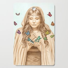 The Butterfly Girl Cutting Board