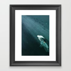 The Little Mermaid Framed Art Print