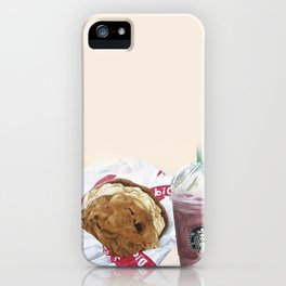 Starbucks & Diddy Riese iPhone Case