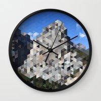 yosemite Wall Clocks featuring Yosemite by Catherine Gibbard