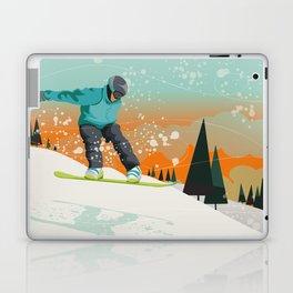 Snowboard Jump Laptop & iPad Skin