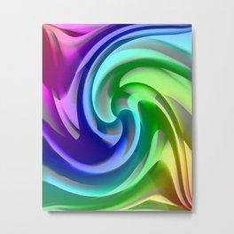 Colorgradient 16 Metal Print