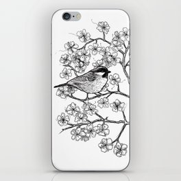 spring bird iPhone Skin