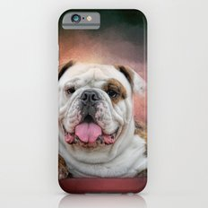 Hanging Out - Bulldog iPhone 6s Slim Case