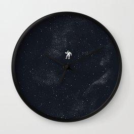 Gravity - Dark Blue Wall Clock