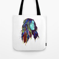dreamer Tote Bags featuring Dreamer by Peter Fulop