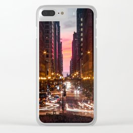 Bright Lights Clear iPhone Case