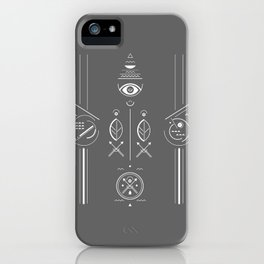 Mystical signs  iPhone Case