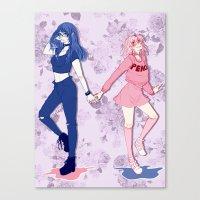 haikyuu Canvas Prints featuring Haikyuu!! | KiyoYachi by Peaches