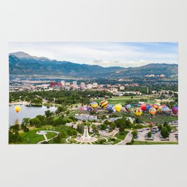 Colorado Springs Feat. The 2018 Labor Day Liftoff Rug