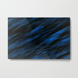 Blue abstract pattern background Metal Print
