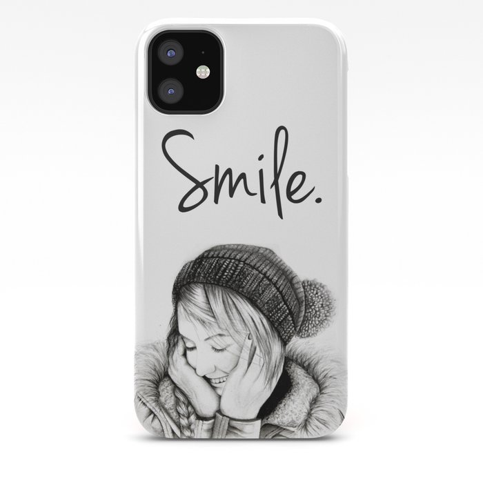 Smile. iPhone Case