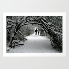 Witch in the Wood Art Print