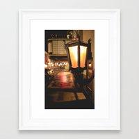 lantern Framed Art Prints featuring Lantern  by Dillonmakar
