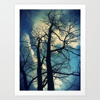Reaching Tree Art Print