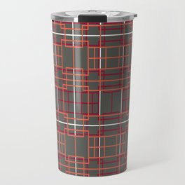 Asian Lattice Design Travel Mug