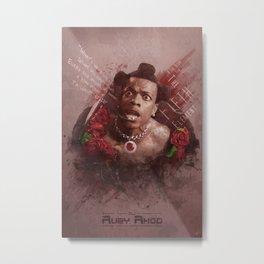 Ruby Rhod Metal Print