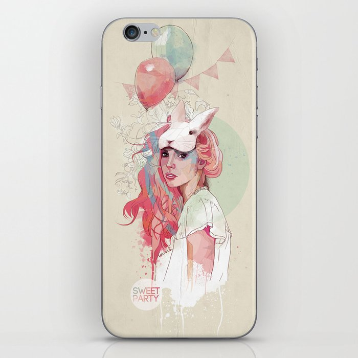Sweet Party iPhone Skin