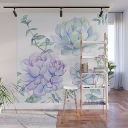 Wonderful Succulents 2 Wall Mural