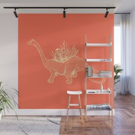 Dinoplant Wall Mural