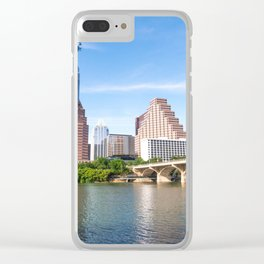 Bright Day in Austin Clear iPhone Case