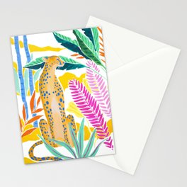 Panther in Jungle Stationery Cards