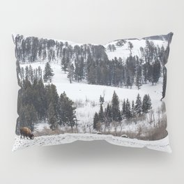 Specimen Ridge - Yellowstone National Park Pillow Sham