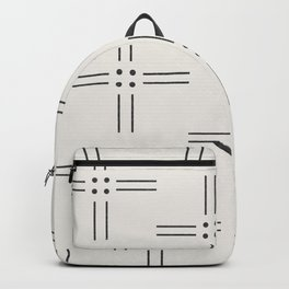 Worn Dots + Lines Backpack