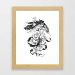 Soul of a Raven Framed Art Print