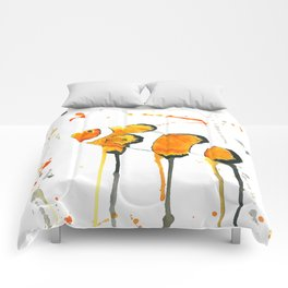 Clownfish - Watercolor Painting Comforters