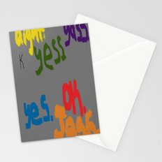 The Many Yeses Stationery Cards