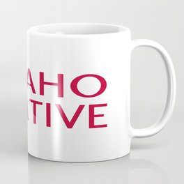 Idaho Native with Idaho Shape and Star Coffee Mug