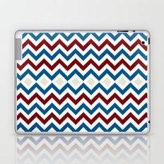 Nautical Chevron Laptop & iPad Skin