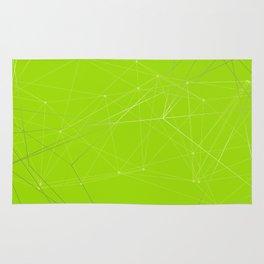 LIGHT LINES ENSEMBLE VII GREEN Rug