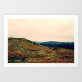 Lake District Art Print