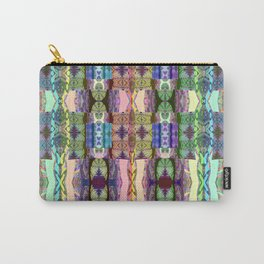 Magical Textile Rainbow Abstract Carry-All Pouch
