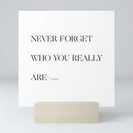 Who Are You Mini Art Print