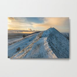 The Shivering Neighbour Metal Print