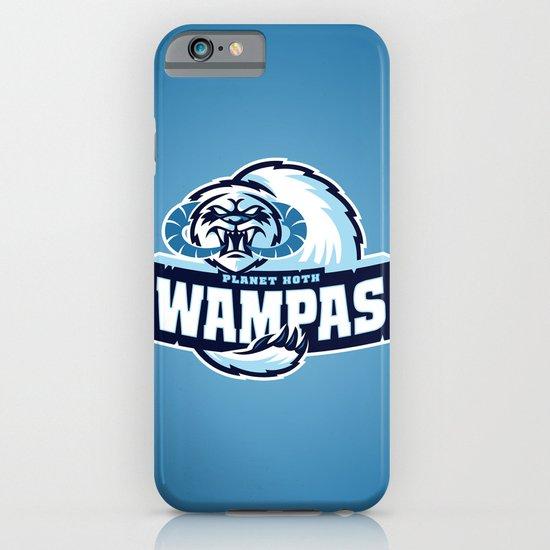 Planet Hoth Wampas - Blue iPhone & iPod Case