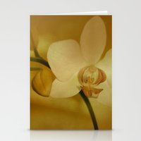 orchid Stationery Cards featuring Orchid by Christine baessler