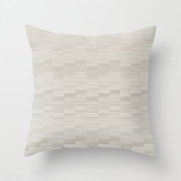 Serene Minimal Design in Ivory Color Throw Pillow