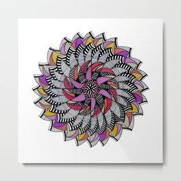 Mandala 009 Metal Print