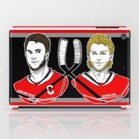 blackhawks iPad Cases featuring Toews & Kane by Kana Aiysoublood