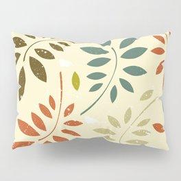 leaf illutration pattern Pillow Sham