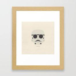you're a little short for a stormtrooper Framed Art Print