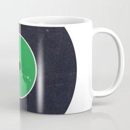 Vinyl Record Star Sign Art   Taurus Coffee Mug