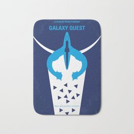 No551 My Galaxy Quest minimal movie poster Bath Mat