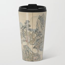 Orchid Pavilion Gathering Travel Mug