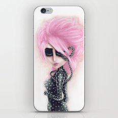 Pinkanhy Polka iPhone Skin