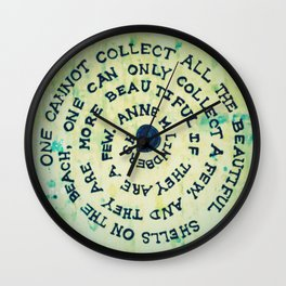 shell quote Wall Clock